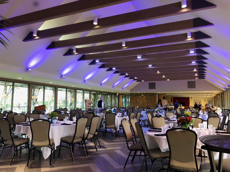 Champions Room at Forest Park Golf Course for Wedding Reception