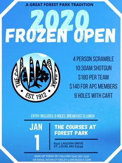 Frozen Open 2020